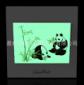 供应新款熊猫国宝老人孩子专用夜光艺术开关